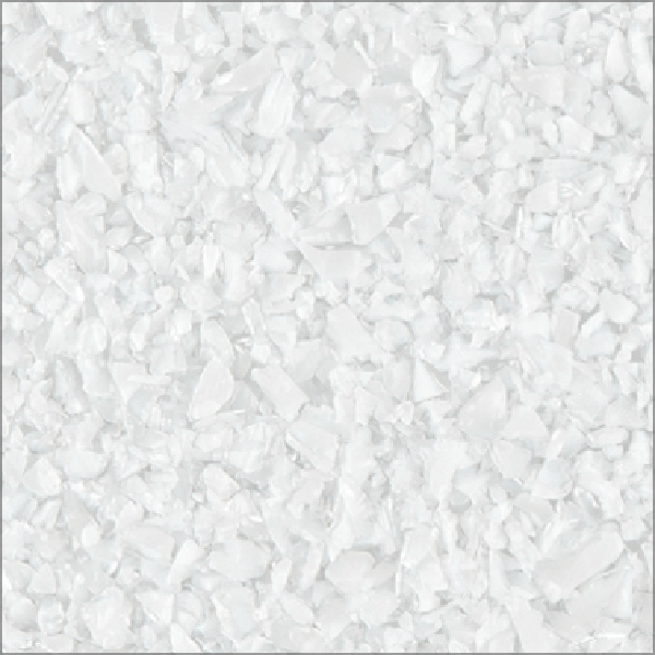 White Opalescent Glass : Uroboros glass white opalescent frit coe