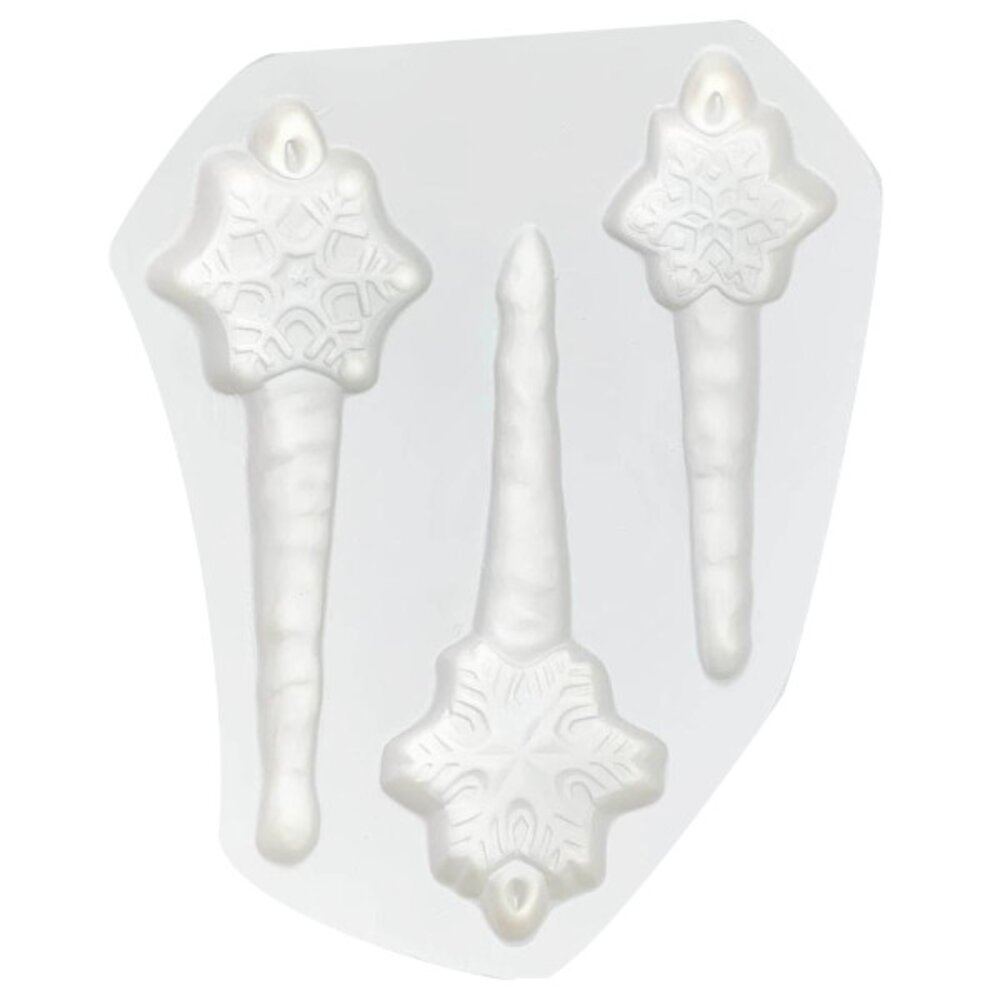 3 Flake Icicles Casting Mold