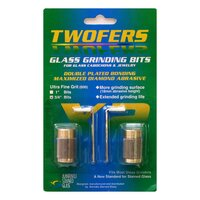 Aanraku Twofers  3/4 Glass Grinding Bits - Ultra Fine