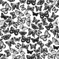 Etched Butterflies Pattern
