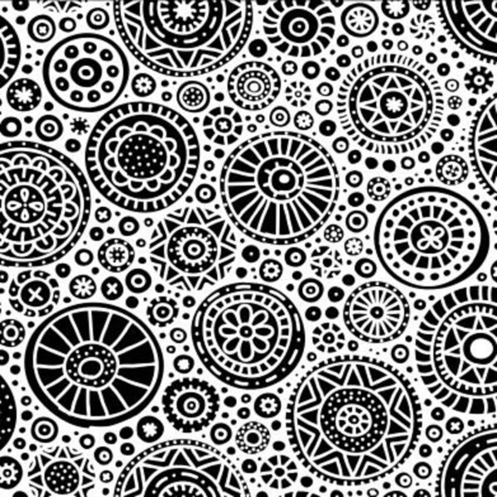 Etched Circles Pattern