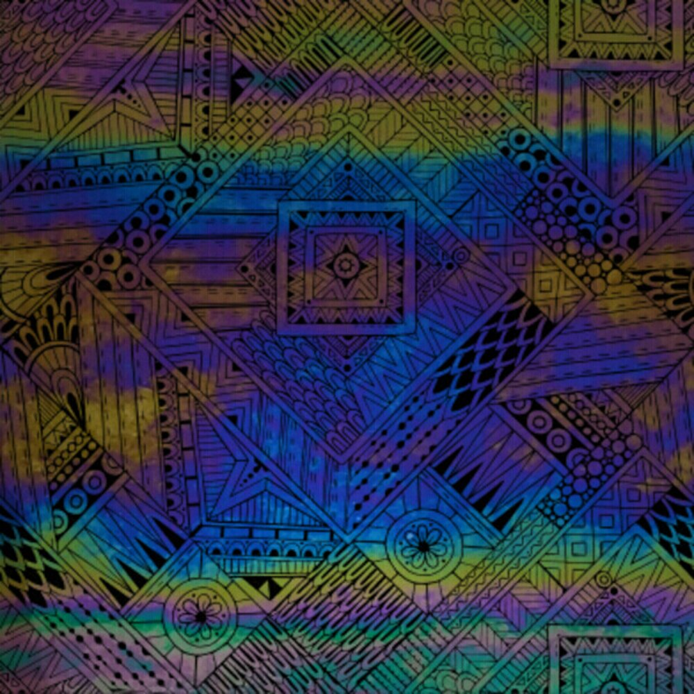 ArtGlassSupplies.com Etched Luminescent Complex Passage Pattern COE96