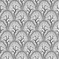 Etched Orchard Pattern