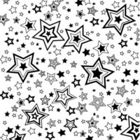 Etched Shooting Stars Pattern