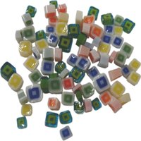 Assorted Square Murrini/ Millefiore - COE90