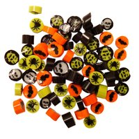 Assorted Halloween Mix Murrini/ Millefiore COE90