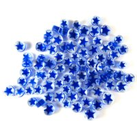 Blue Star Murrini/ Millefiore - COE96