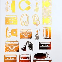 Boom Boxes Decals Sheet