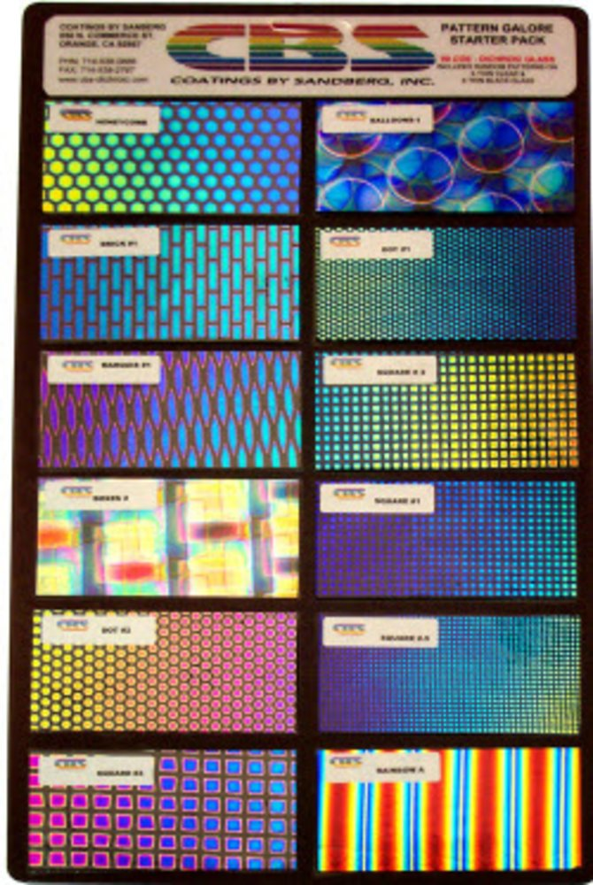 CBS Dichroic Patterns Galore Starter Pack COE90