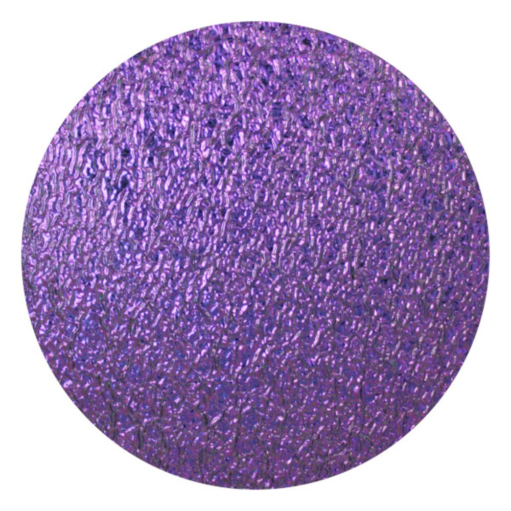 CBS Dichroic Coating Purple on Clear Ripple  COE96
