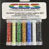 CBS Dichroic Frit Flakes Sample Set COE90
