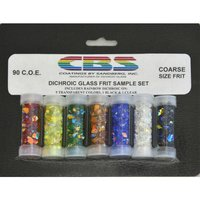 CBS Rainbow Dichroic Frit Sample Set COE90