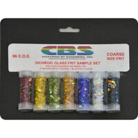 CBS Rainbow Dichroic Frit Sample Set COE96