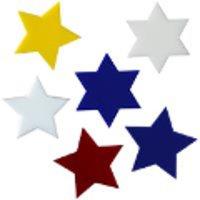 COE90 Glass Stars