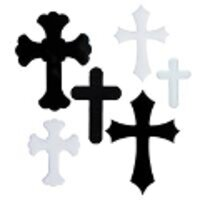COE96 Glass Crosses