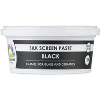 Color Line Silk Screen Paste, Black, 5.2 oz.