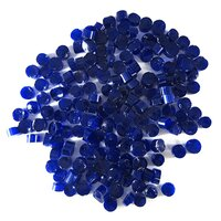 Deep Cobalt Blue Opalescent Dots COE90
