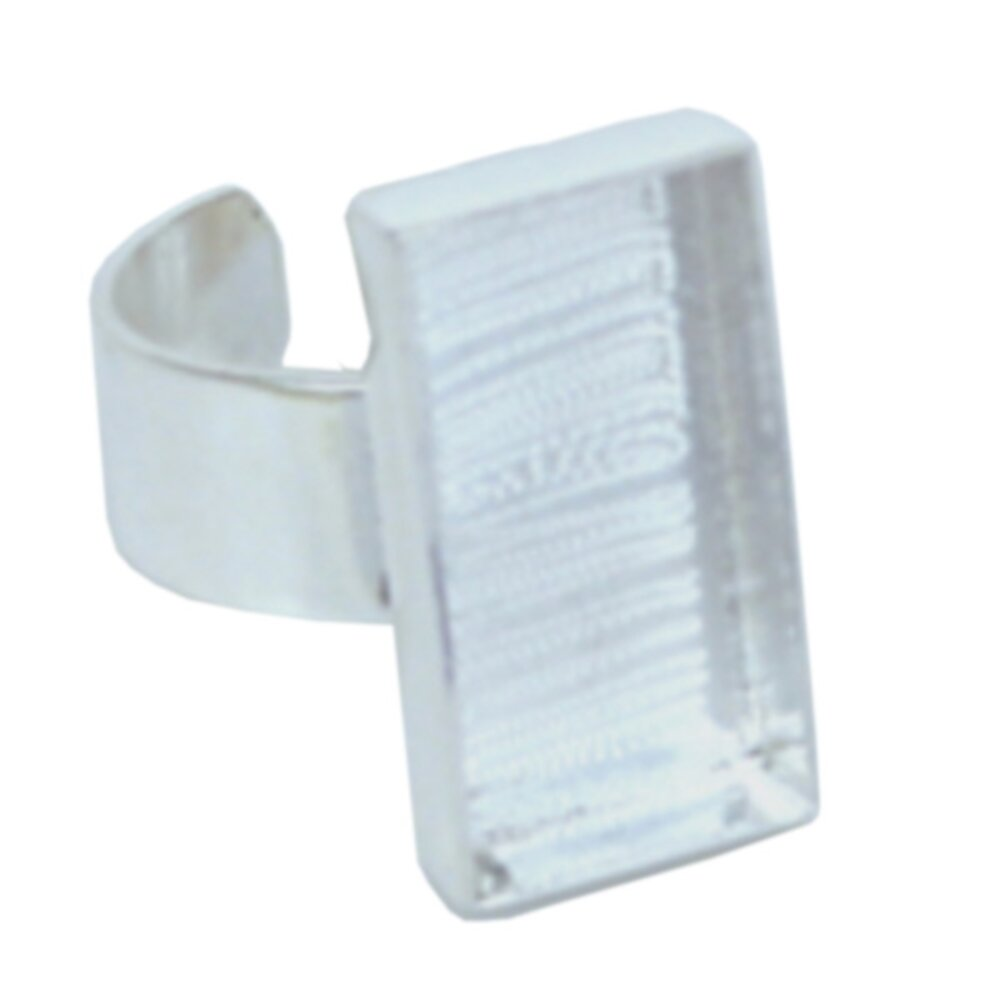 Deep Well Rectangle Ring 10.6 x 21 x 4mm