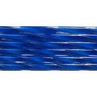Deep Cobalt Blue Ribbon Glass Cane COE90