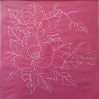 Designer Silk Screen - Magnolia Pattern