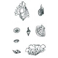 Designer Silk Screen - Sea Shell-2 Pattern