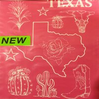 Designer Silk Screen - Texas-1 Pattern