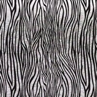 Duncan Dichroic Zebra Pattern on Premium Red/ Silver Dichroic Coated Glass - COE96