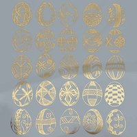 Easter Egg Decal Sheet