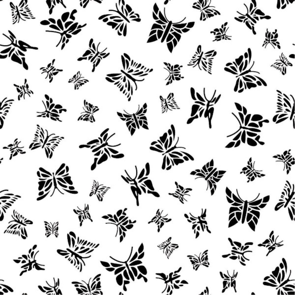 Etched Butterfly 2 Pattern