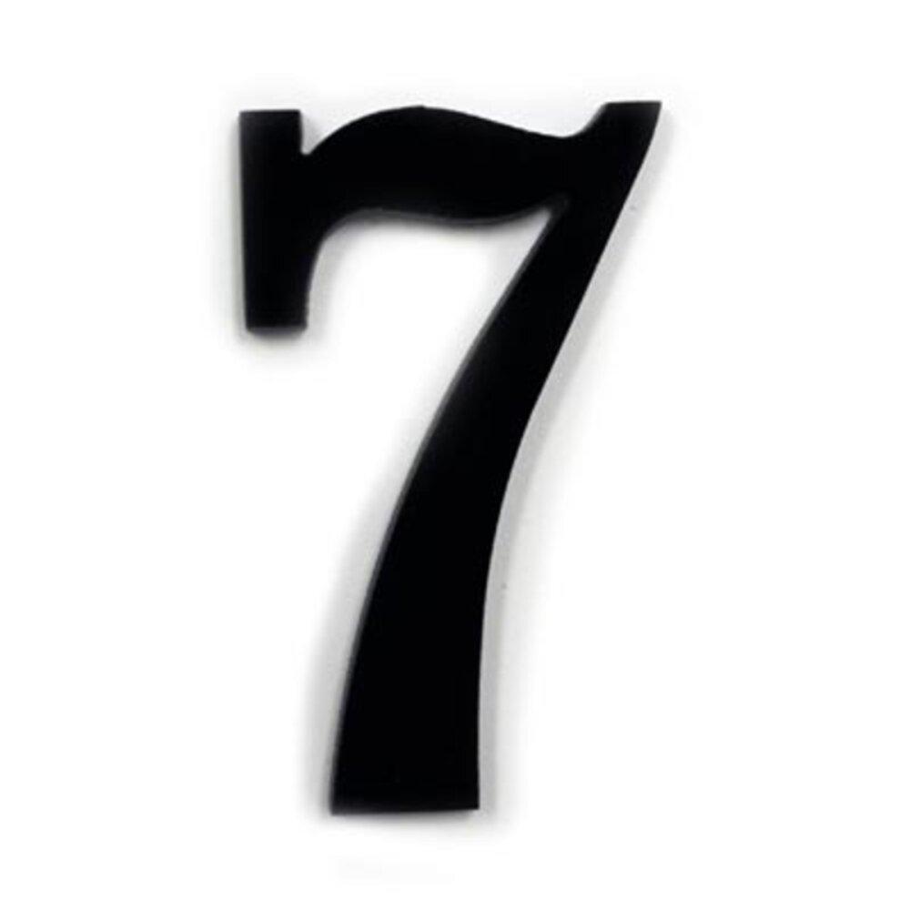 Precut Black Number 7 Coe96
