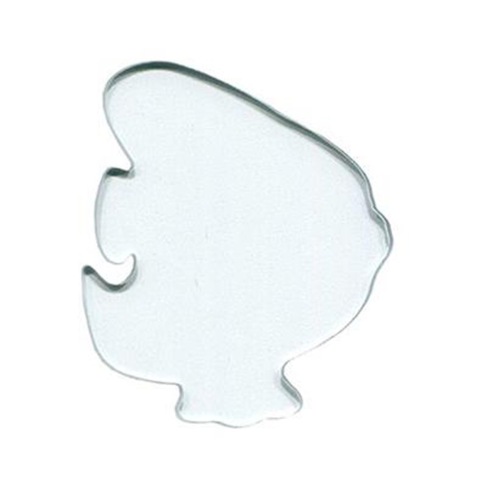 Precut Discus Fish Large Clear Pack of 3 COE96