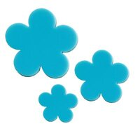 Precut Flower Turquoise Green COE96