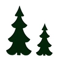 Precut Slim Tree Dark Green COE96