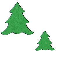 Precut Tree Light Green COE90