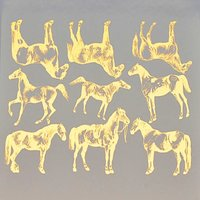 Horse Breeds Decal Sheet