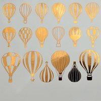 Hot Air Balloon Decals Sheet