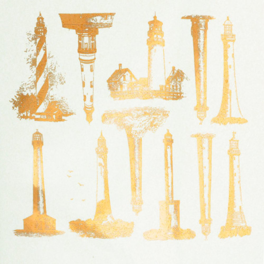 Lighthouses Decal Sheet