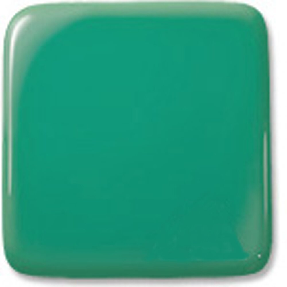 Oceanside Glass Apple Jade Opalescent, Double-rolled, 3mm COE96
