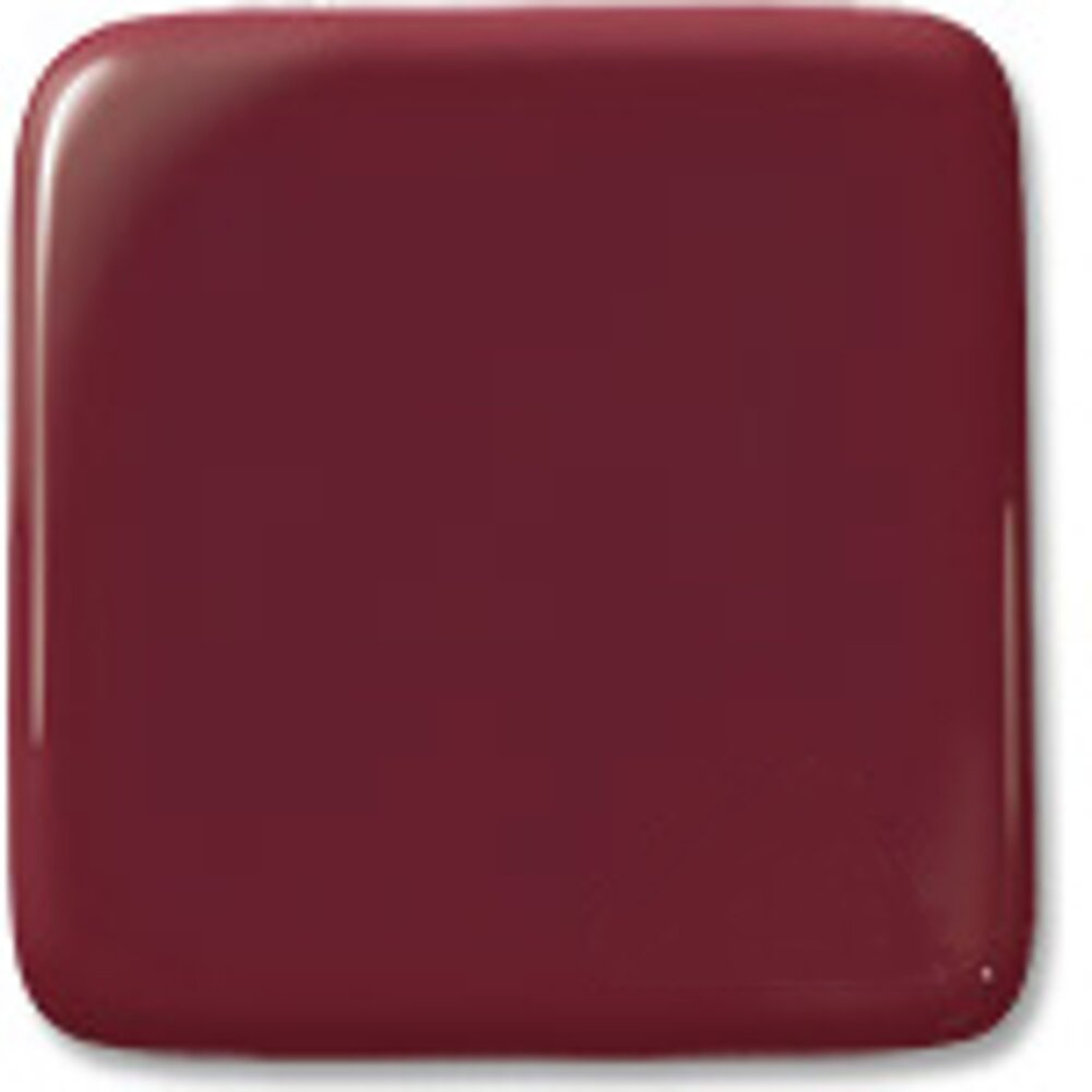 Oceanside Glass Black Cherry Opalescent, Double-rolled, 3mm COE96