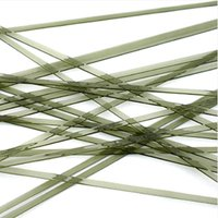 Oceanside Glass Noodles Light Olive Transparent COE96