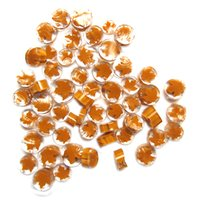 Orange Maple Leaf Murrini/ Millefiore - COE90