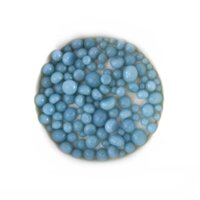 Powder Blue Opalescent Frit Balls COE90