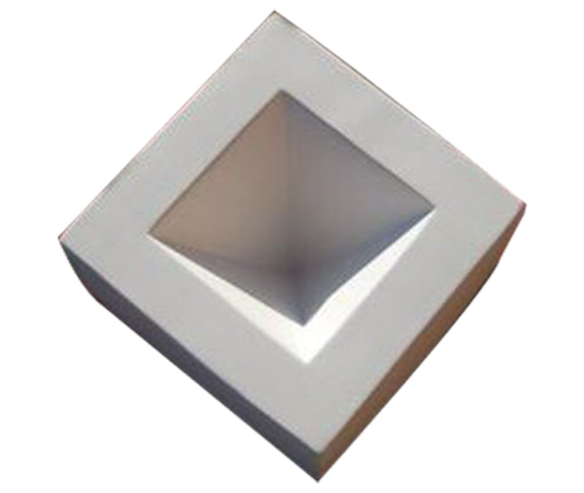 Pyramid Paperweight Kiln Casting Mold
