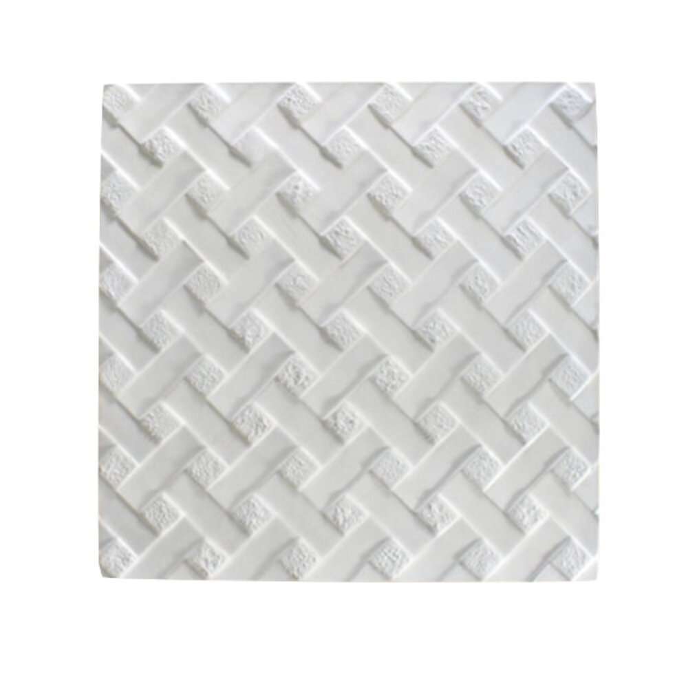 Reverse Weave Textured Fusing Tile