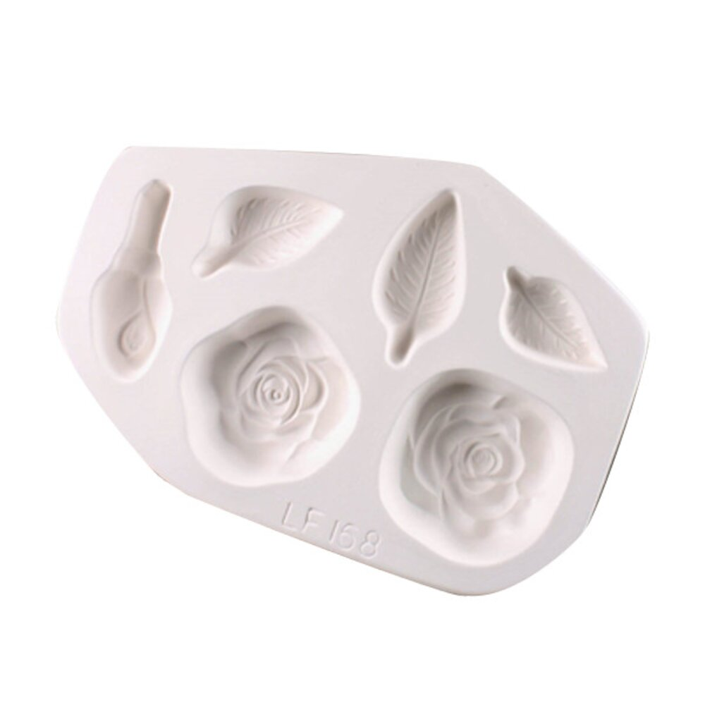 Roses and Leaves Casting Mold