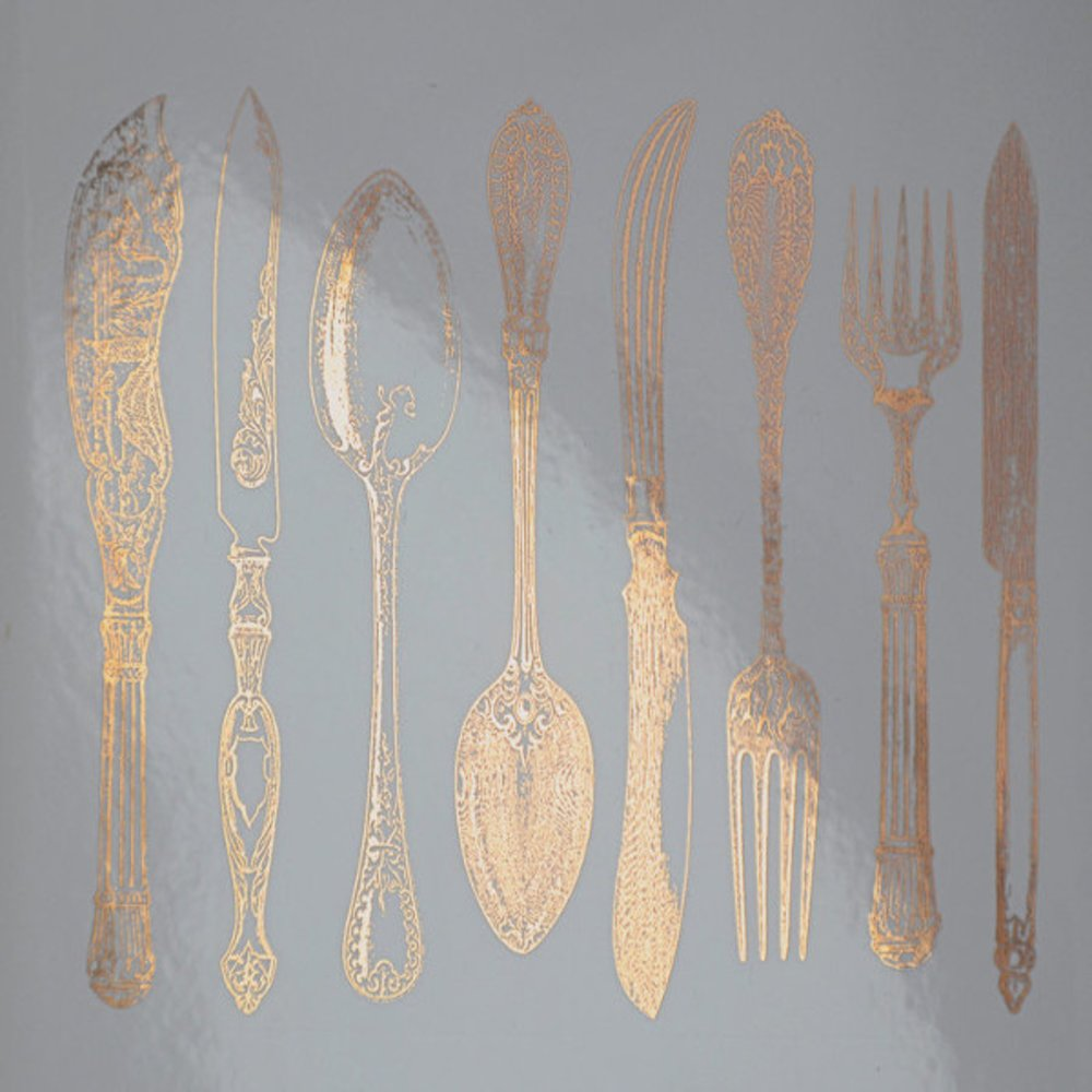 Silverware Decal Sheet