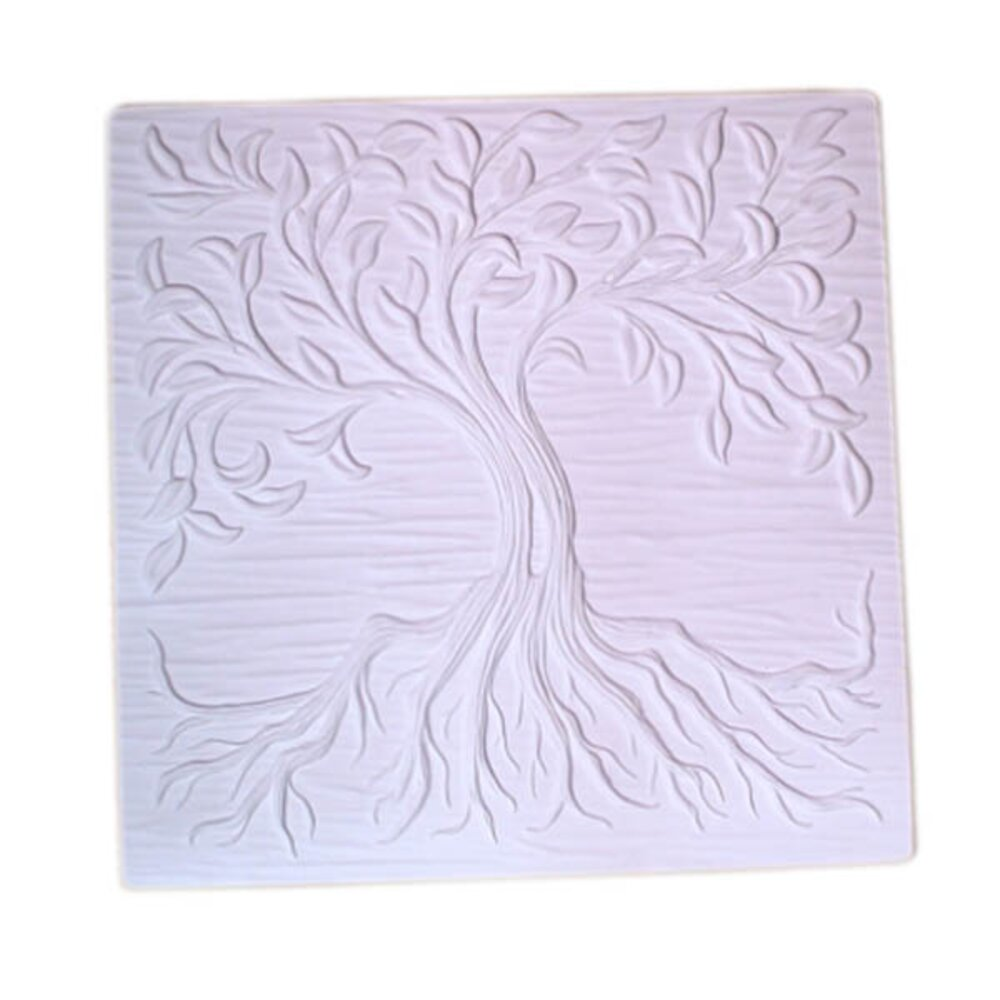 Small Tree of Life Textured Fusing Tile