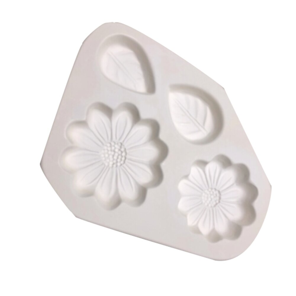 Small Daisies and Leaves Casting Mold