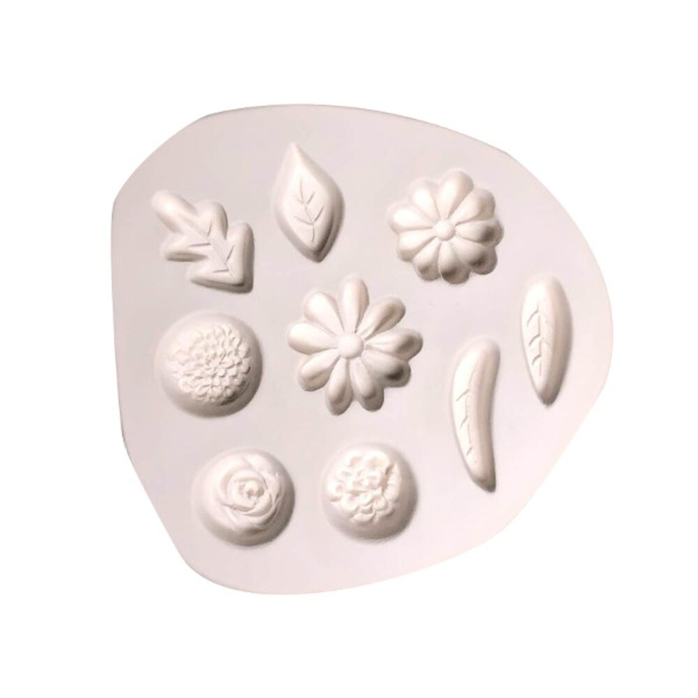 Small Flowers And Leaves Casting Mold