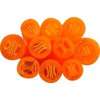 Twisted Cane - Murrini Stick - Orange and Yellow - COE90